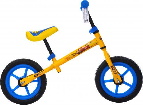 Беговел двухколёсный Navigator Тачки-3 желтый велосипед двухколёсный navigator disney тачки красно желтый вн16123