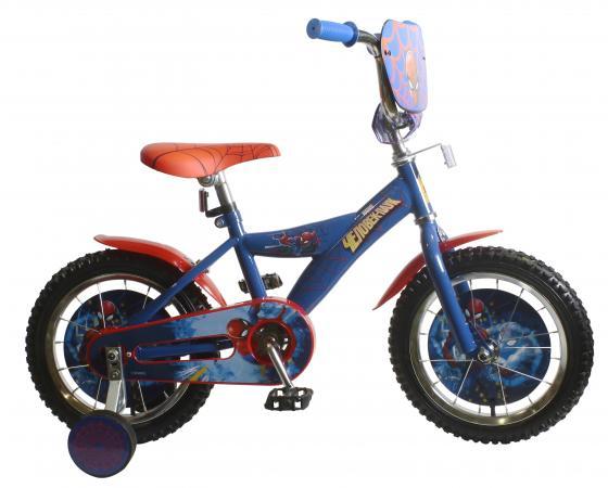 Велосипед двухколёсный MARVEL Человек Паук синий велосипед royal baby pony 2 в 1 зеленый двухколёсный rb12b 4