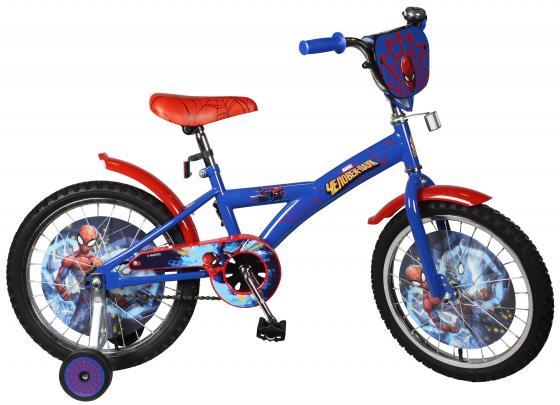 Велосипед двухколёсный MARVEL Человек Паук сине-красный JK1412