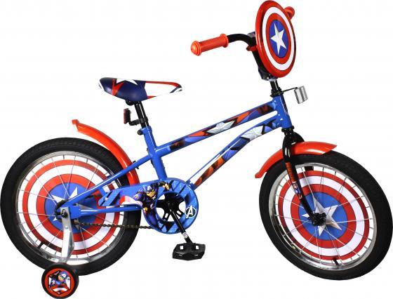 Велосипед двухколёсный MARVEL Капитан Америка сине-красный ВН18093