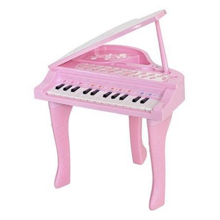 Фото - Музыкальный детский центр Рояль розовый HS0356828 коляска прогулочная everflo safari grey e 230 luxe