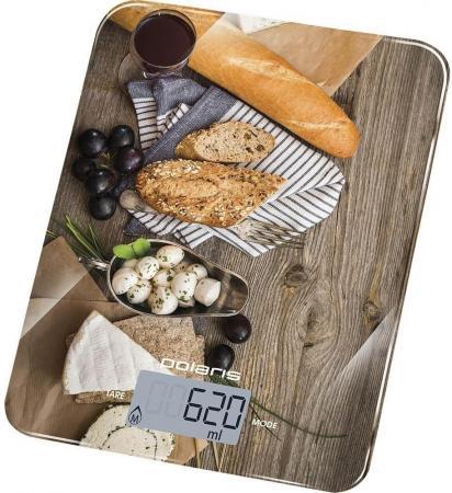 Весы кухонные Polaris PKS 1044DG рисунок весы кухонные polaris pks 0741dg italy белый рисунок