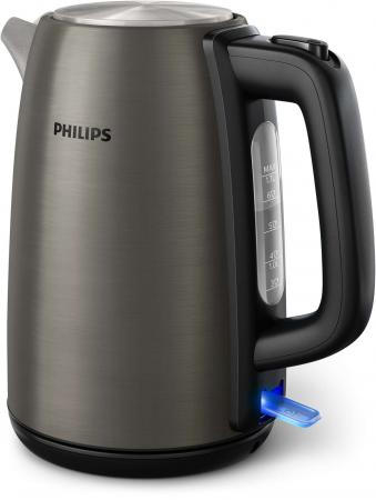 Чайник Philips HD9352/80 2200 Вт титан 1.7 л нержавеющая сталь чайник электрический philips hd9352 80