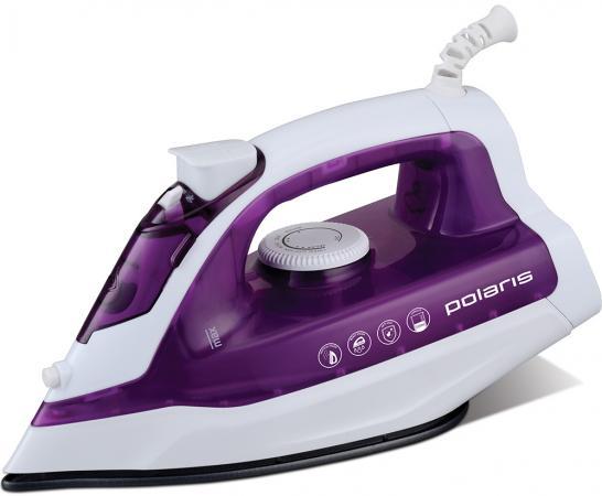 Утюг Polaris PIR 1876 1800Вт белый фиолетовый утюг polaris pir2466k pir2466k