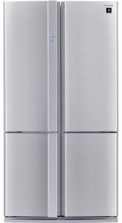 Холодильник Side by Sharp SJ-FP97VST нержавеющая сталь
