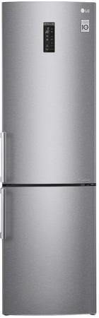 Холодильник LG GA-B499YMQZ серебристый холодильник lg ga b499ymqz silver