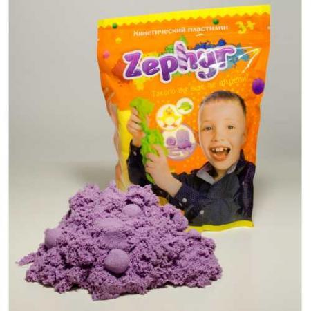 Кинетический пластилин Zephyr-фиолетовый (0,3 кг/дой-пак) (извините, гиперссылка на картинку отсутствует) кпб cl 225