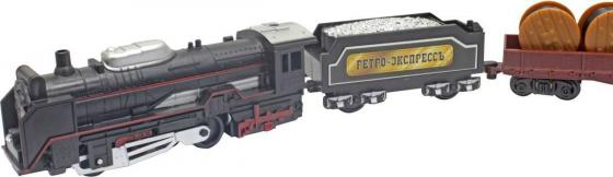 1toy ж/д Ретро Экспресс, свет,паровоз, 3 вагона, 18 деталей, длина путей 104х68 см копилка ретро паровоз 15 10 14см уп 1 12шт
