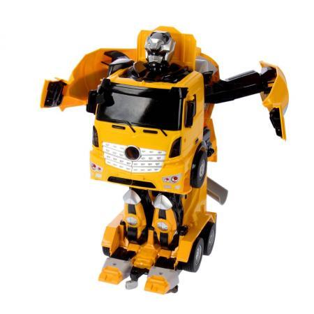 цена на Робот-трансформер 1Toy Робот-машина - Бетономешалка на радиоуправлении Т11022