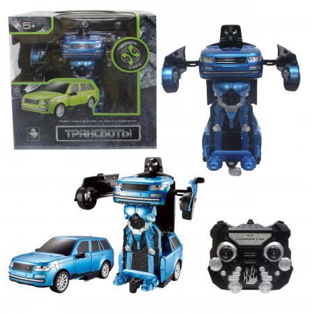 Робот-трансформер 1Toy Трансботы - Джип на радиоуправлении Т10865 конструкторы 1toy конструктор формула 1toy гоночный джип 90 деталей