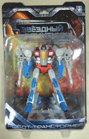 1toy Звёздный защитник, робот-трансформер, собирается в истребитель, блистер,