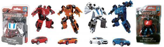 Фото - Трансформер 1toy Transcar mini робот-трансформер трансформер 1toy звёздный защитник