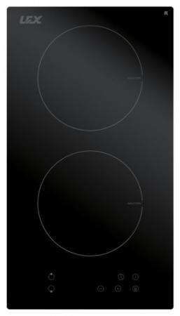Встраиваемая индукционная варочная панель LEX EVI 320 BL 3500Вт 2конф. 58х268х500мм 30см черный встраиваемая индукционная панель neff t36fb40x0