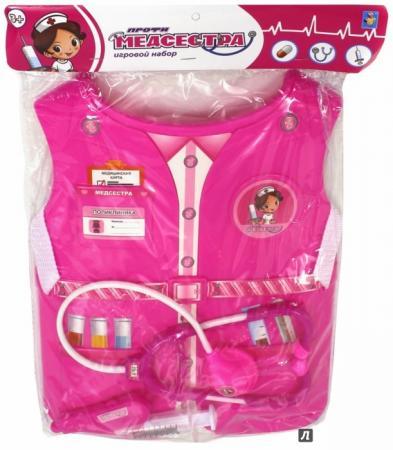 Игровой набор 1toy костюм Медсестра 3 предмета 1toy игровой набор 1toy костюм профи с жилетом мастер 4 предмета