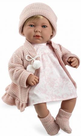 Arias ELEGANCE мягк кукла 45 см.,в одежед, роз., со звук. эфф. смех при нажатии на животик (3хLR44/AG13), в кор. 26*16,5*48 см. muslinlife 3pcs set baby crib bedding set nursery bedding set pillow case bed sheet duvet cover suit crib size within 130 70cm