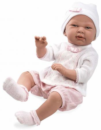 Пупс Arias Elegance, в розовой одежде 52 см Т11123 arias пупс elegance в одежде т11097