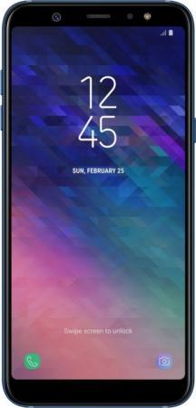 "Смартфон Samsung Galaxy A6+ 2018 синий 6"" 32 Гб NFC LTE Wi-Fi GPS 3G SM-A605F цена и фото"