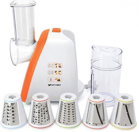 Измельчитель KITFORT КТ-1318-2 150Вт оранжевый цена