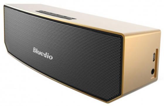 Bluetooth-колонка Bluedio BS-3 Golden gold plated banana plug jack connector set golden 3 5mm 10 pairs