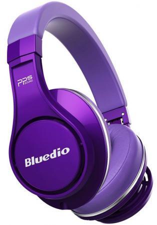 Наушники Bluedio U Purple фиолетовый