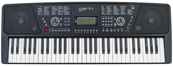 Синтезатор Denn DEK610 61 клавиш музыкальный инструмент детский doremi синтезатор 37 клавиш с дисплеем