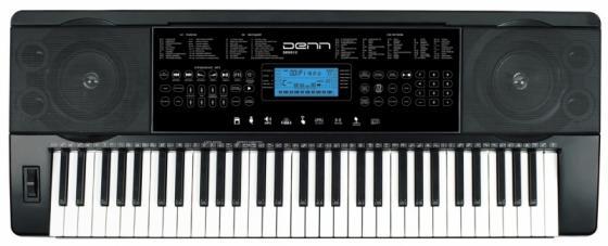 Синтезатор Denn DEK612 61 клавиш музыкальный инструмент детский doremi синтезатор 37 клавиш с дисплеем
