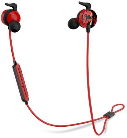 Фото - Наушники Bluedio AI Sports черный красный bluedio cck ks bluetooth 4 1 sports headphones with mic