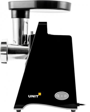 Фото - Электромясорубка Unit UGR-464 450 Вт чёрный электромясорубка unit ugr 462 400 вт чёрный