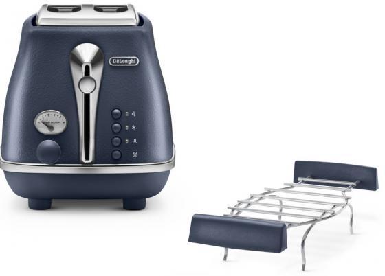 Тостер DeLonghi CTOE 2103 BL синий electric kettle boiling pot 304 stainless steel home insulation 1 5l