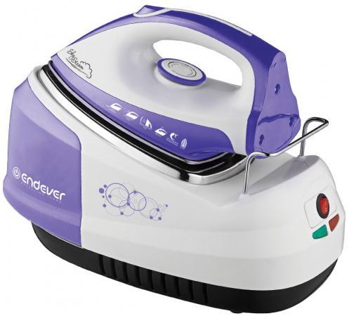 Парогенератор ENDEVER Skysteam-734 2300Вт белый фиолетовый утюг endever skysteam 734 белый фиолетовый