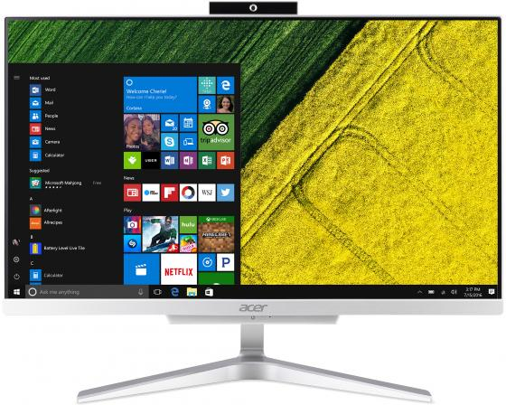 Моноблок 21.5 Acer Aspire C22-860 1920 x 1080 Intel Core i5-7200U 8Gb 1 Tb HD Graphics 620 Windows 10 Professional серебристый DQ.B94ER.005