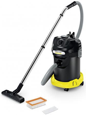 Пылесос Karcher AD 4 PREMIUM сухая уборка чёрный жёлтый подметальная машина karcher s 650 сухая уборка чёрный жёлтый