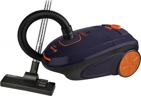 Пылесос Vitek VT-8106 VT сухая уборка фиолетовый чёрный