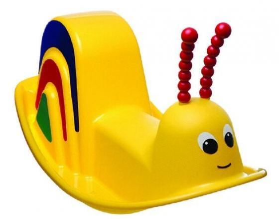 Качалка PalPlay Улитка пластик от 1 года желтый песочница бассейн marian plast palplay лодочка желтый 308