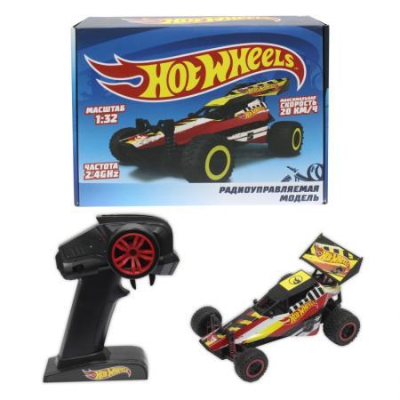Машинка на радиоуправлении 1toy *Hot Wheels* Багги красный от 3 лет пластик Т10968 игрушки на радиоуправлении 1toy hot wheels