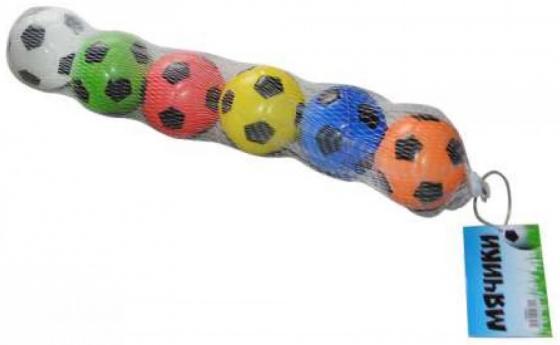 Набор мячей 1toy Т59841 6 предметов 1toy набор для лепки замков из снега 1toy 10 предметов