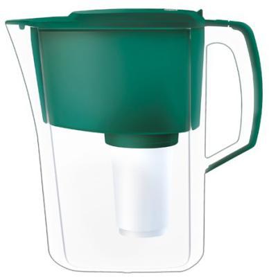 Кувшин Аквафор Атлант темно-зеленый фильтр кувшин аквафор атлант тёмно зелёный