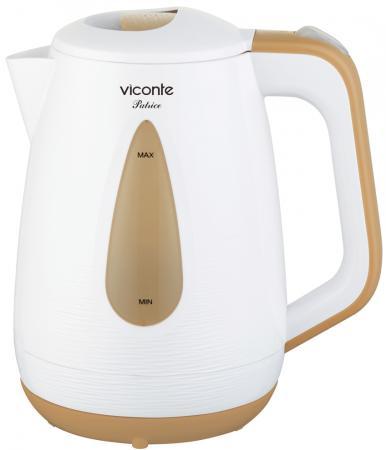 Чайник Viconte VC-3267 белый/кремовый viconte vc 4406 белый