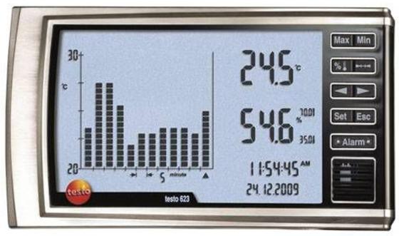 Термогигрометр TESTO 623 измерение воздуха -10-60°C измерение влажности 10-98%ОВ измеритель влажности testo 606 1