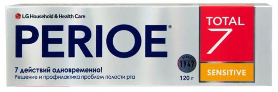 Зубная паста Perioe Total 7 Sensitive 120 гр зубная паста perioe perioe pe038luxzs05