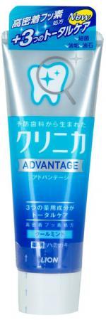Зубная паста LION Clinica Advantage Cool Mint 130 гр