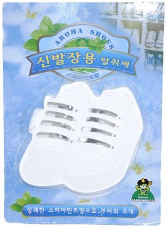 Ароматизатор-поглотитель запаха для обуви Sandokkaebi Мята 4 г kokubo поглотитель запаха в гелевых шариках shosyuс запахом персика 150 г