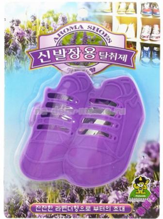 Ароматизатор-поглотитель запаха для обуви Sandokkaebi Лаванда 4 г средство против запаха и моли для шкафов sandokkaebi лесной 4 г