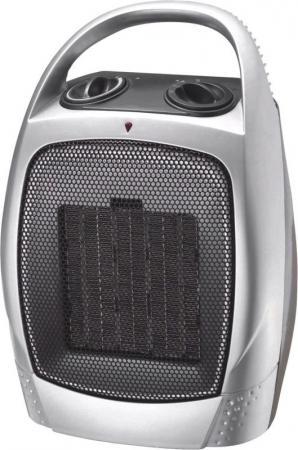 Тепловентилятор РЫСЬ ТВК-1500 1500 Вт серебристый цена и фото