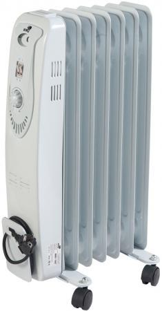 Масляный радиатор WWQ RM01-1507 1500 Вт белый серый