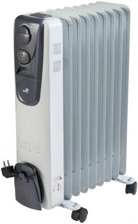 Масляный радиатор WWQ RM02-2009 2000 Вт белый серый