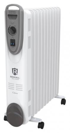 Масляный радиатор Royal Clima CLIMA ROR-C5-1000M 1000 Вт белый цена