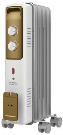Масляный радиатор Timberk TOR 21.1005 BCX 1000 Вт белый цена и фото