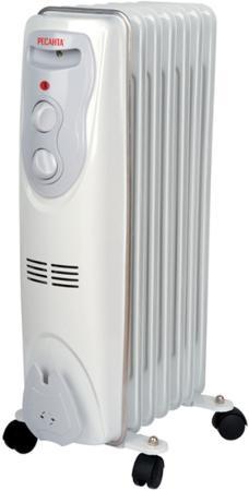 Масляный радиатор Ресанта ОМ-7Н 1500 Вт белый