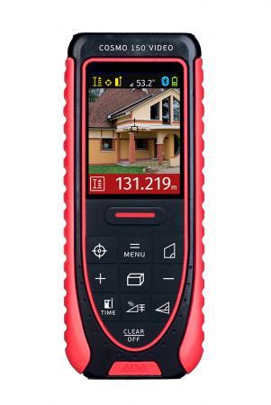 Дальномер ADA Cosmo 150 Video Лазерный Диапазон измерений 80м (150м)Точность ±1.5мм 635нм дальномер ada cosmo 150 video